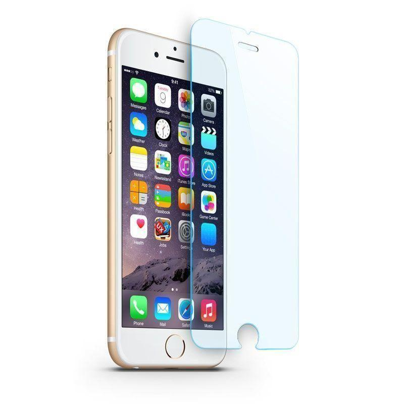 - Blue Light and UV Filter Tempered Glass Screen Protector 2-Pack for Apple iPhone 6/iPhone 6s