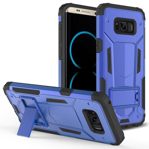 Samsung Galaxy S8 Plus - Hybrid Transformer Cover with kickstand, Blue/Black for Galaxy S8 Plus