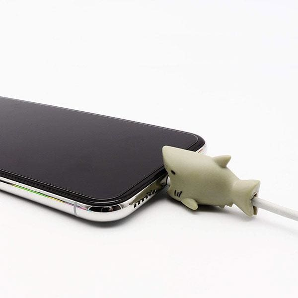 Cable Bite Phone Cable Protector - Shark