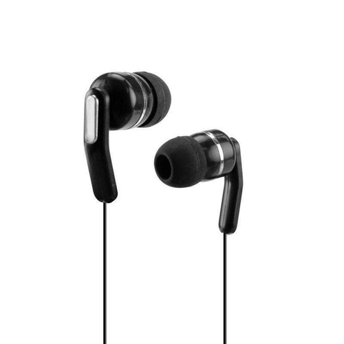 Zte Avid 4g - Cellet 3.5mm Retractable Stereo Headset, Black