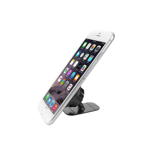 Apple Iphone 4 - Compact Magnetic Quick-Snap Car Dashboard Phone Holder, Black