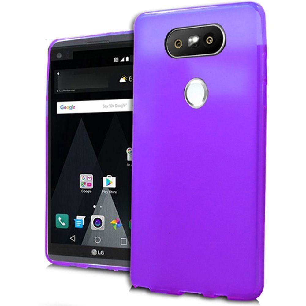 - Crystal Protector Slim Fit Hard Plastic Case, Purple