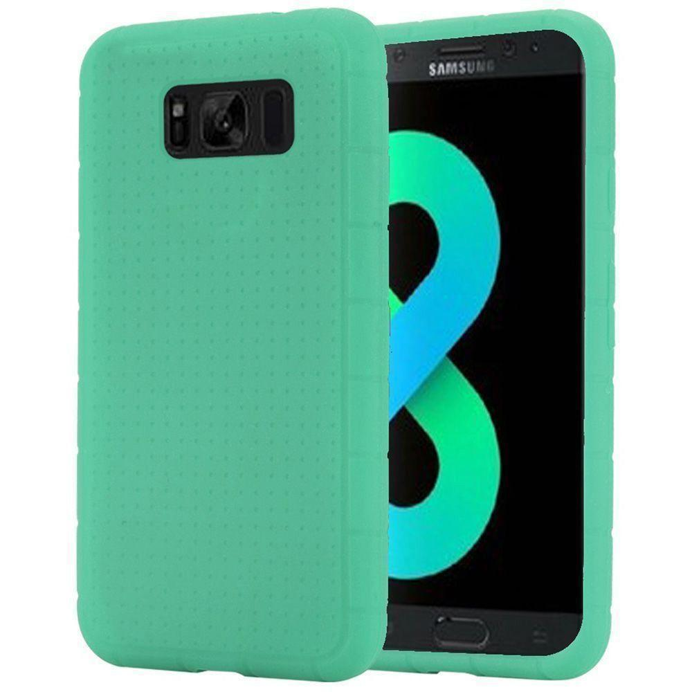 - Silicone Case, Teal for Galaxy S8 Plus