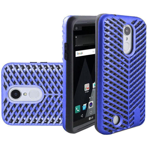Phone Cases & Covers - Mesh Design Vented Rugged Case, Blue/Black