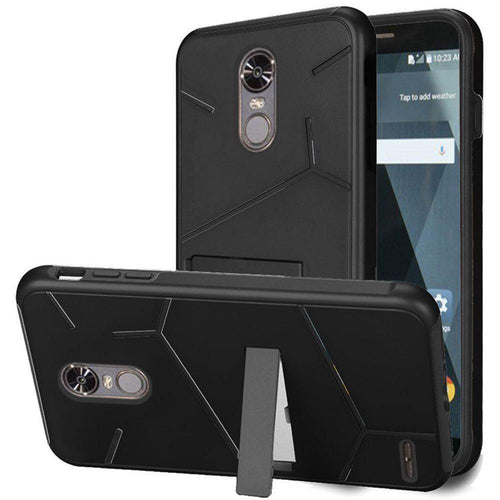 Phone Cases & Covers - Slim HLX Hybrid Phone Case with Kickstand, Black