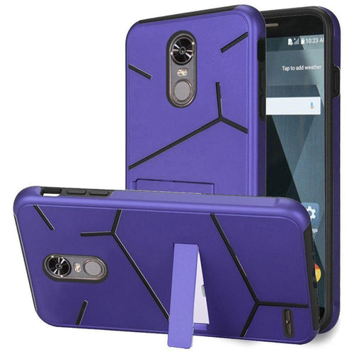 Phone Cases & Covers - Slim HLX Hybrid Phone Case with Kickstand, Purple/Black