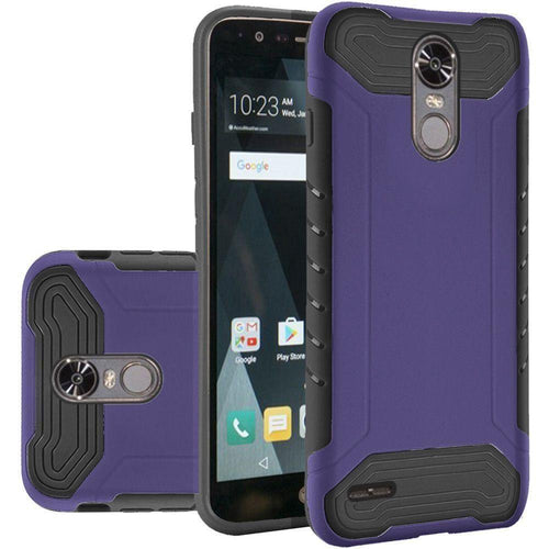 Phone Cases & Covers - Quantum Dual Layer Rugged Case, Purple/Black