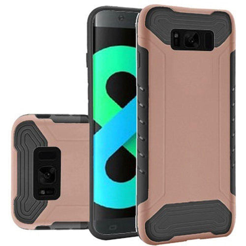 Samsung Galaxy S8 Plus - Quantum Dual Layer Rugged Case, Rose Gold/Black for Galaxy S8 Plus