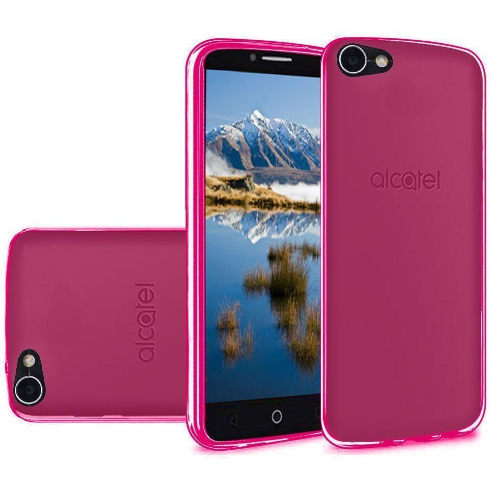 - Frosted TPU Case, Hot Pink