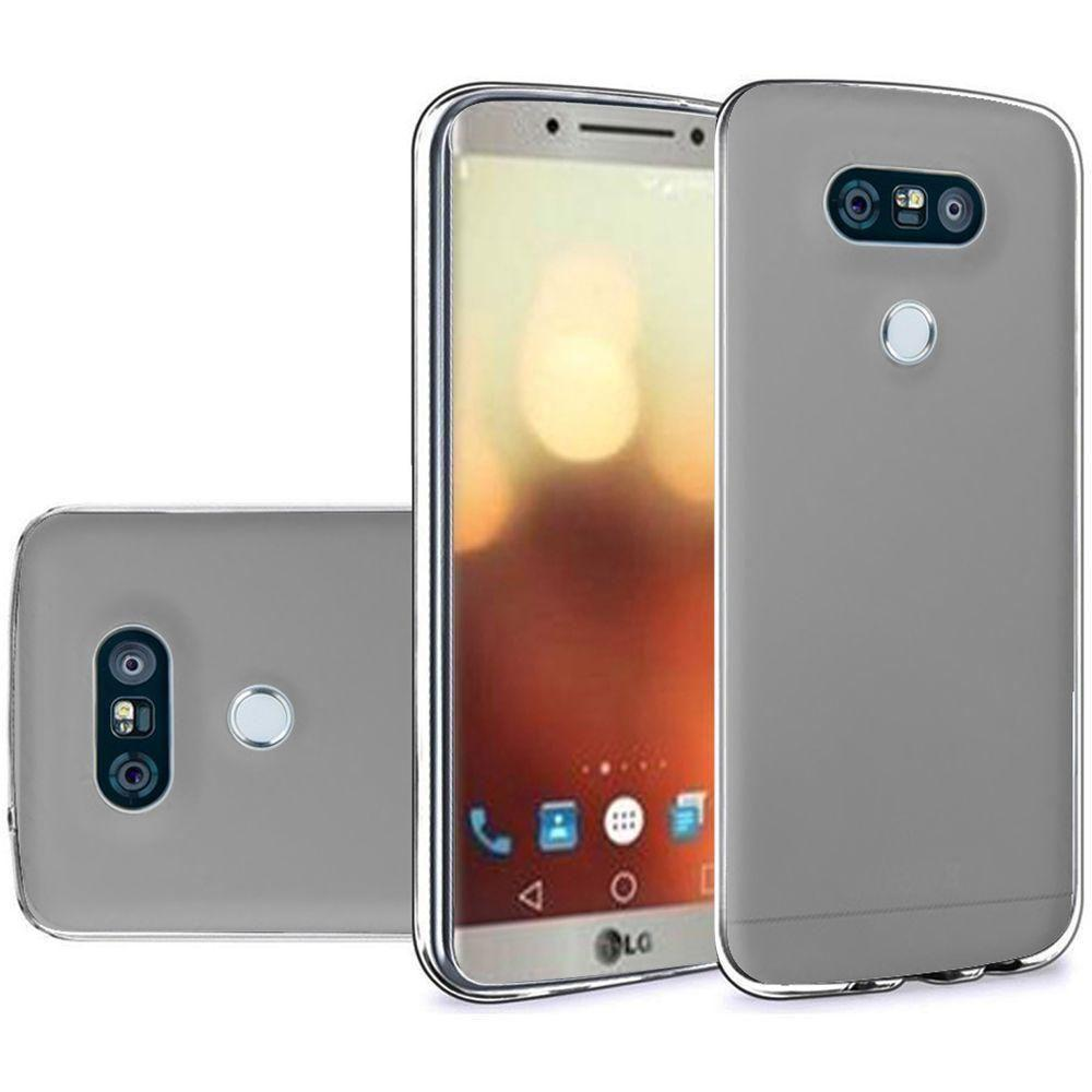- Frosted TPU Case, Gray
