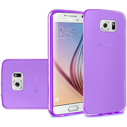 Samsung Galaxy S6 - Frosted TPU Case, Purple for Galaxy S6
