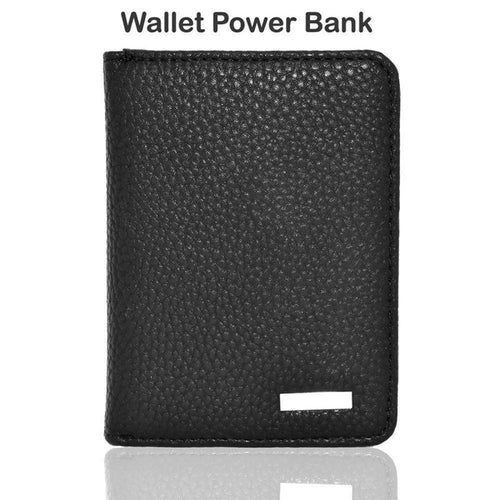 Zte Avid 4g - Portable Power Bank Wallet (3000 mAh), Black