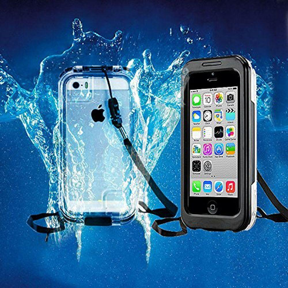 - AquaCase Waterproof Case Rugged Case, Black for Apple iPhone 7/iPhone 8