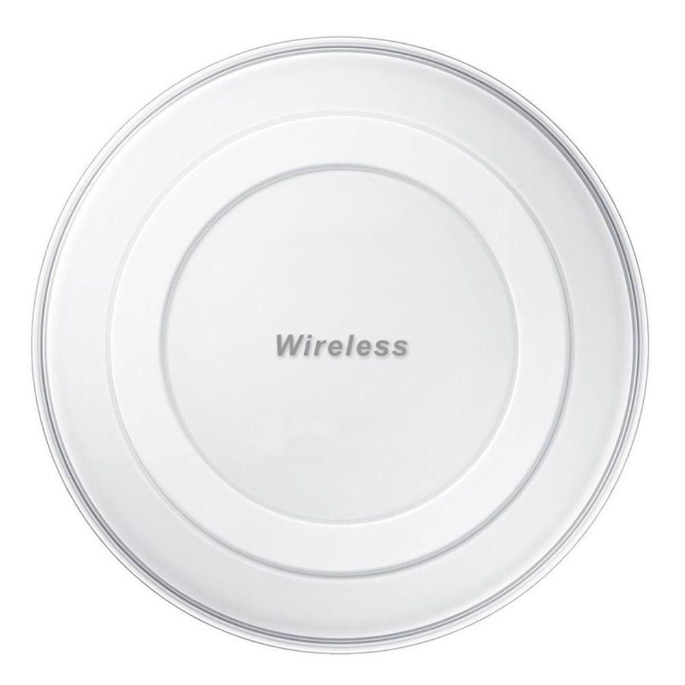 - Wireless Charging Pad, White for QI Compatible Smartphones and Other Devices
