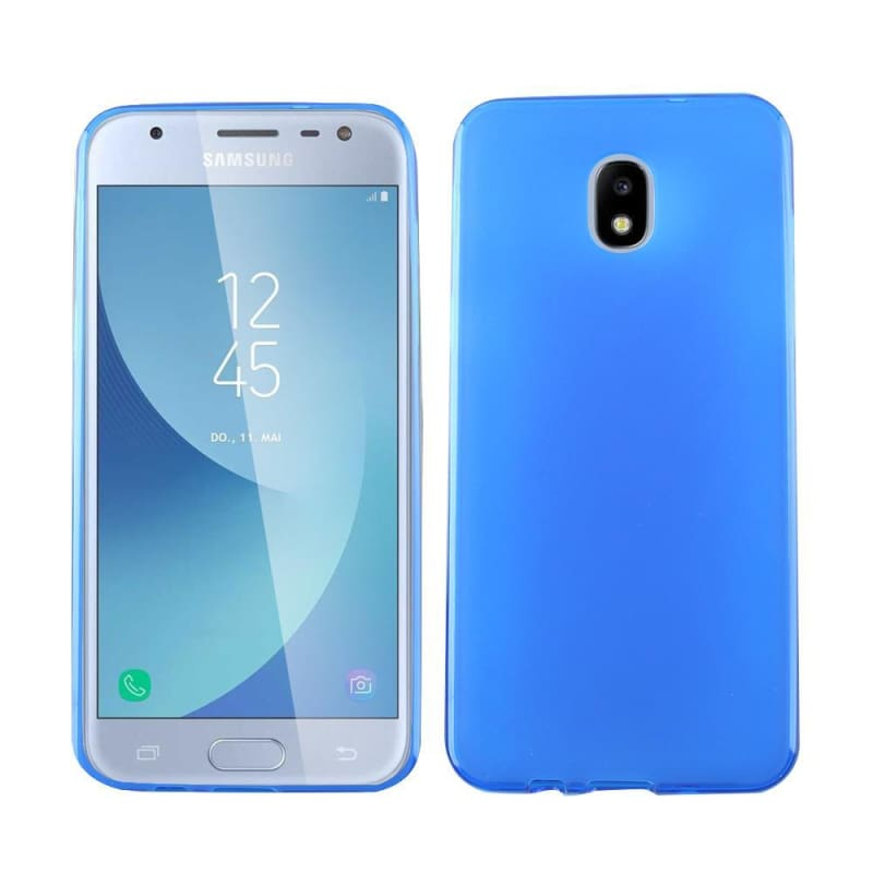 the best attitude 02813 c952d Samsung Galaxy Amp Prime 3 Frosted TPU Case, Blue
