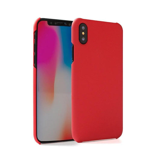 Ultra Slim Fit Hard Plastic Case, Red