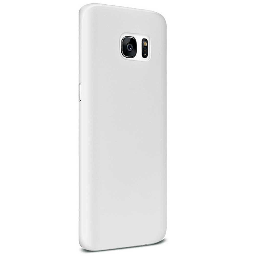 Ultra Slim Fit Hard Plastic Case, White for Galaxy S7 Edge