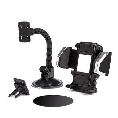 Window Mount Phone Holder, Black – CellularOutfitter