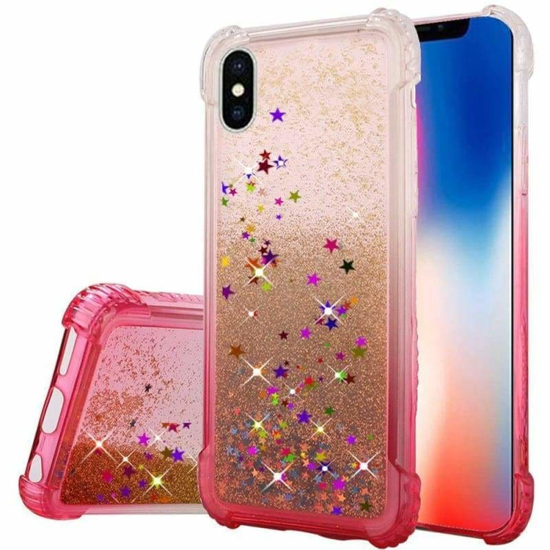 GLITTER COLORFUL PLASTIC IPHONE COVER