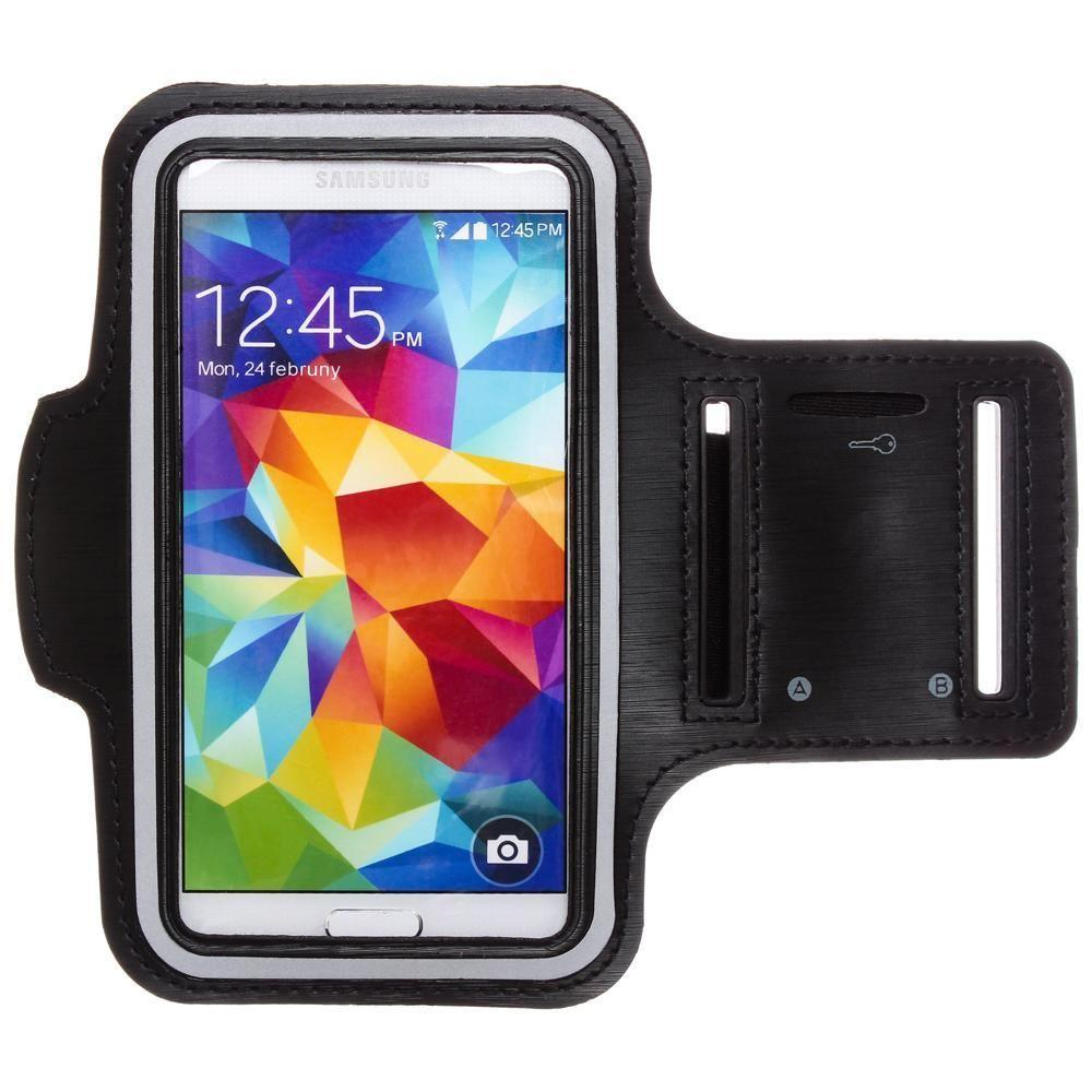 - Fitness Armband, Black for Samsung Galaxy S4