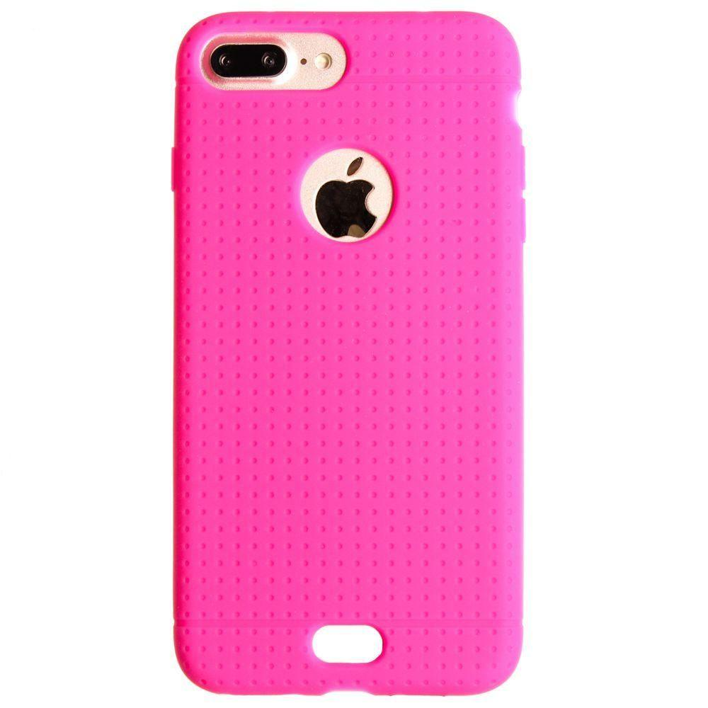 - Silicone Case, Hot Pink for Apple iPhone 7 Plus/iPhone 8 Plus