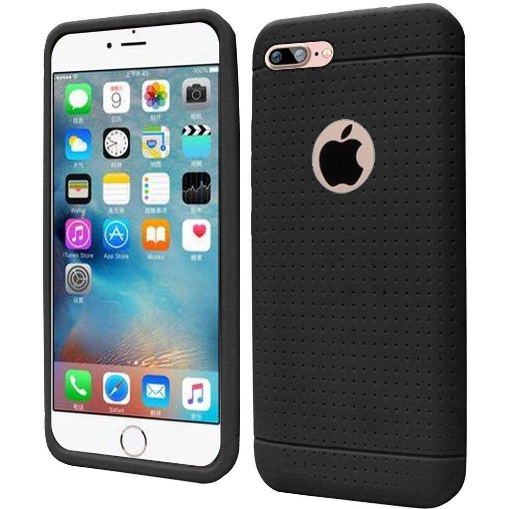 - Silicone Case, Black for Apple iPhone 7/iPhone 8