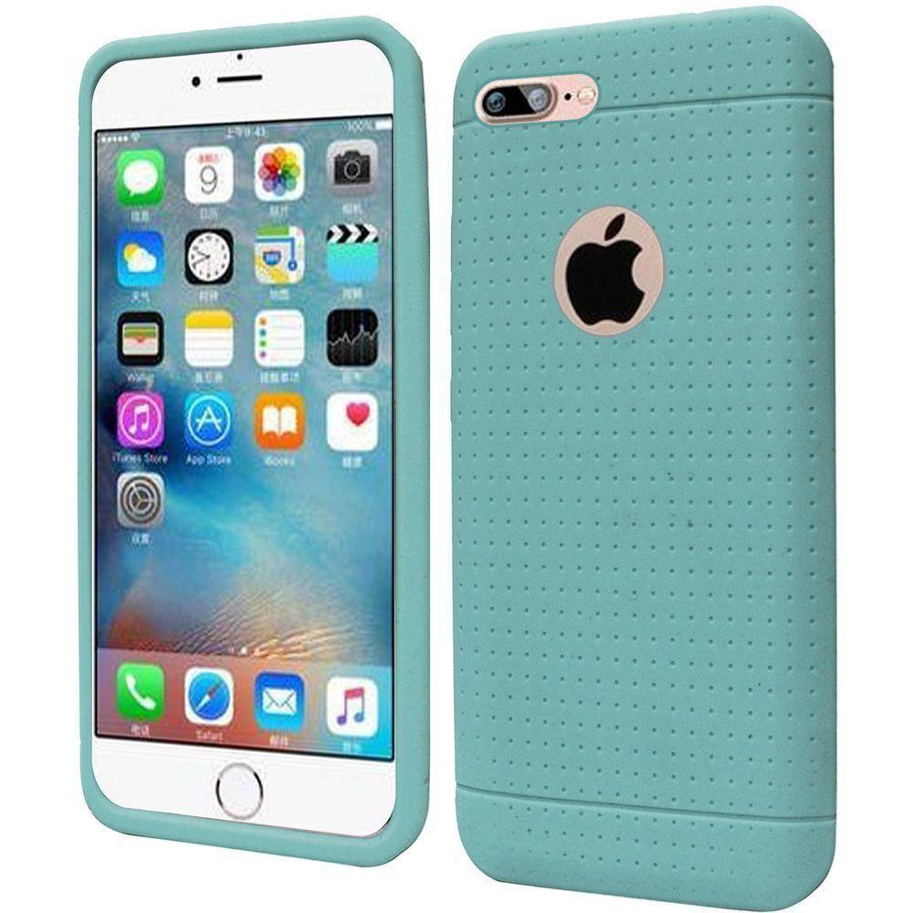 - Silicone Case, Teal for Apple iPhone 7/iPhone 8