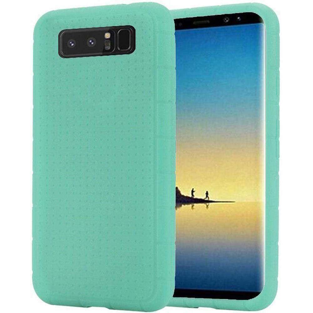 - Silicone Case, Teal for Samsung Galaxy Note 8