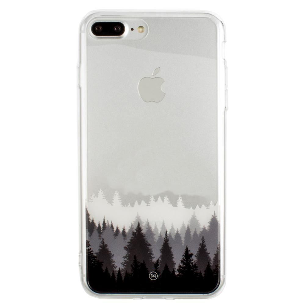 - Ultra Clear Grayscale Forest Slim Case, Clear/Gray for Apple iPhone 7 Plus/iPhone 8 Plus