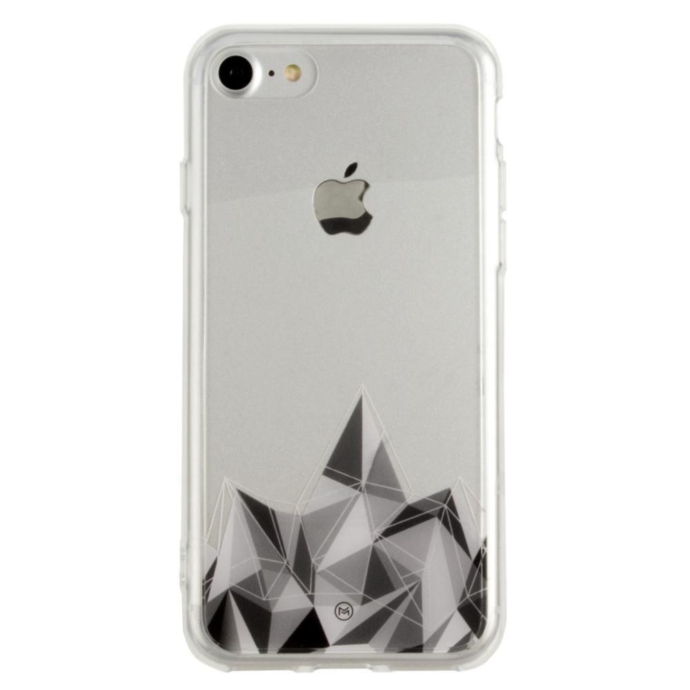 - Ultra Clear Grayscale Crystal Slim Case, Clear/Gray for Apple iPhone 7/iPhone 8