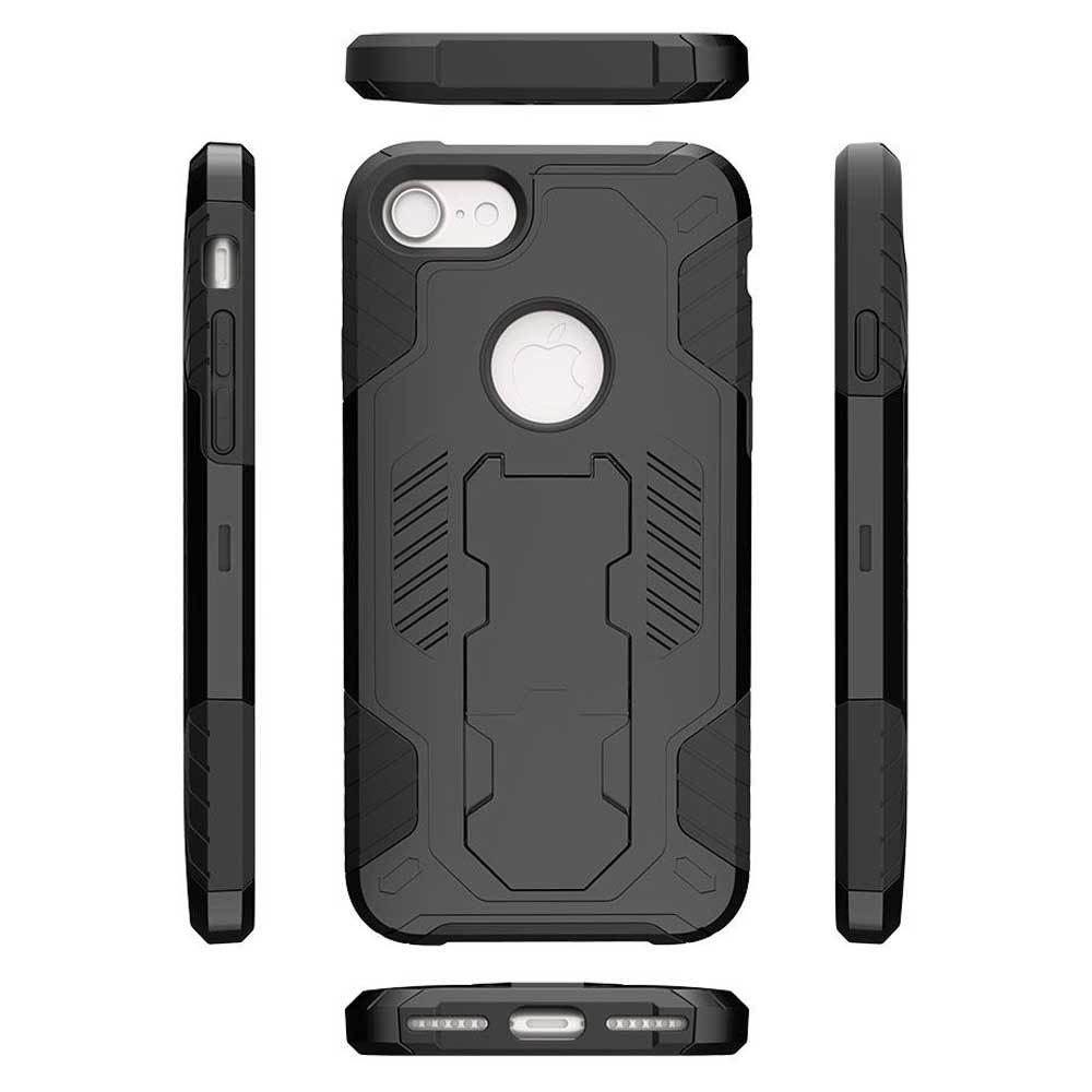 - Mantas Heavy-Duty Rugged Case with Stand, Black for Apple iPhone 7/iPhone 8