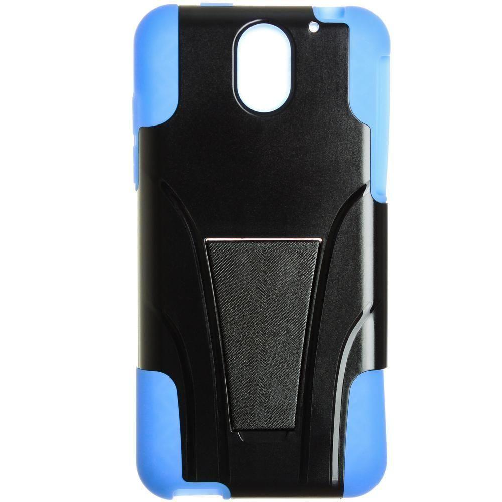 - Dual Layer Rugged Case, Black/Blue