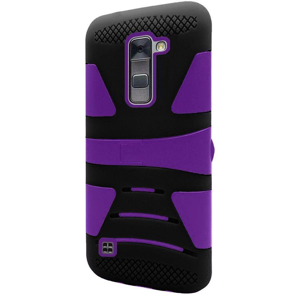 - V2 Armor Guard Rugged Case, Black/Purple