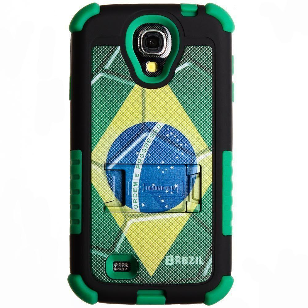- Tri Shield Brazil Rugged Case for Samsung Galaxy S4