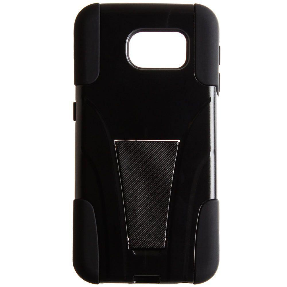 - Dual Layer Rugged Case, Black for Galaxy S6