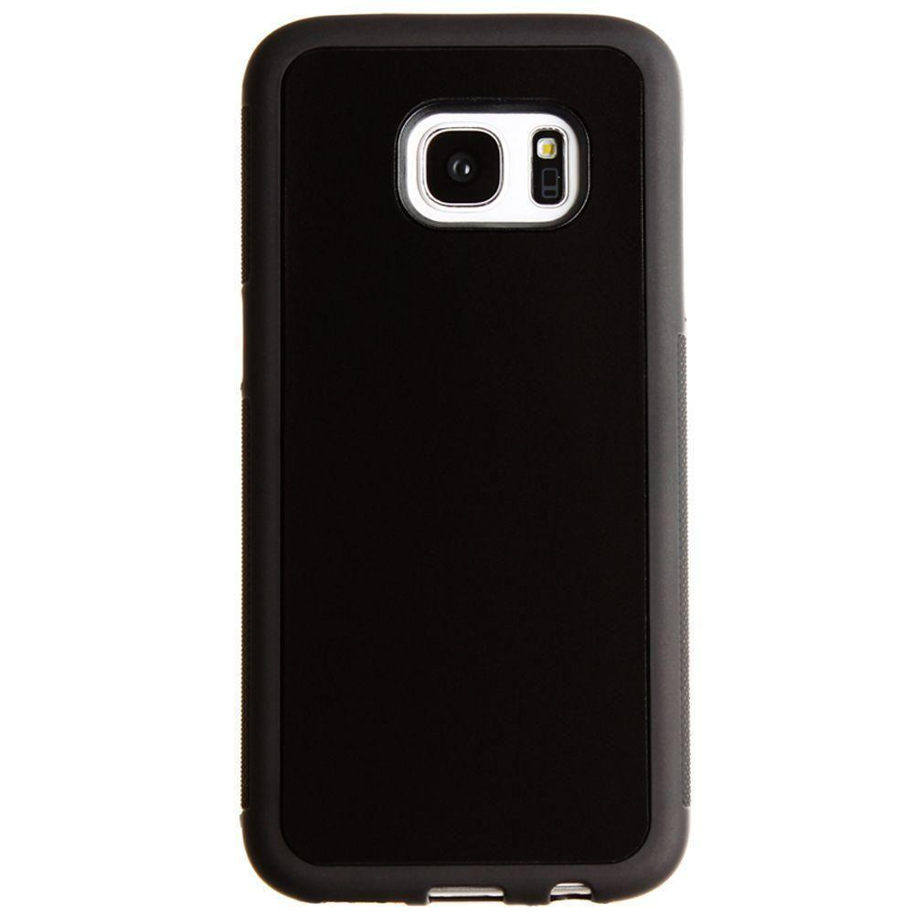 - Anti-Gravity Nano-Sunction Case - Perfect to take hand-free selfies & watching videos on-the-go, Black for Samsung Galaxy S7