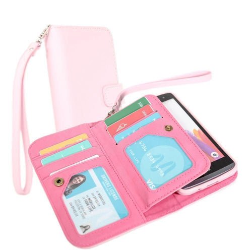 Samsung Galaxy Core Prime - Limited Edition Multi-Card Wallet Case with Wristlet, Summer Melon