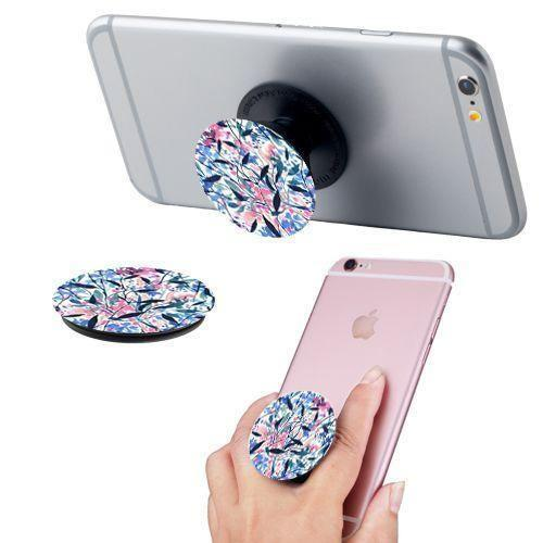 - Spring Flowers Expandable Phone Grip and Stand, Multi-Color