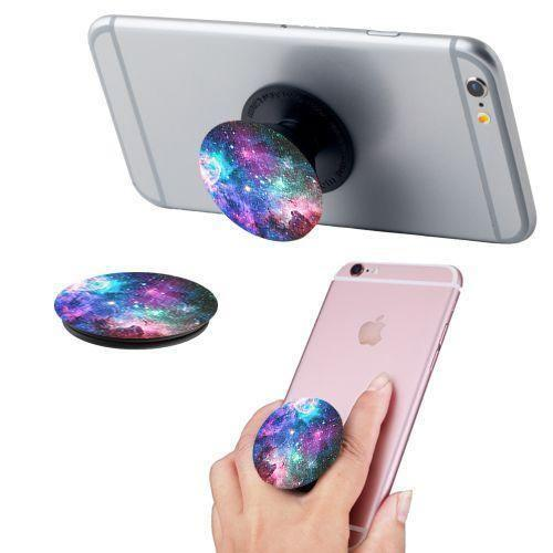 - Galaxy Design Expandable Phone Grip and Stand, Multi-Color