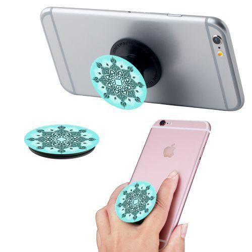 - Mandala Mint Expandable Phone Grip and Stand, Mint
