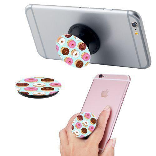 Lg 4050 - Glazed Donuts Expandable Phone Grip and Stand, Multi-Color