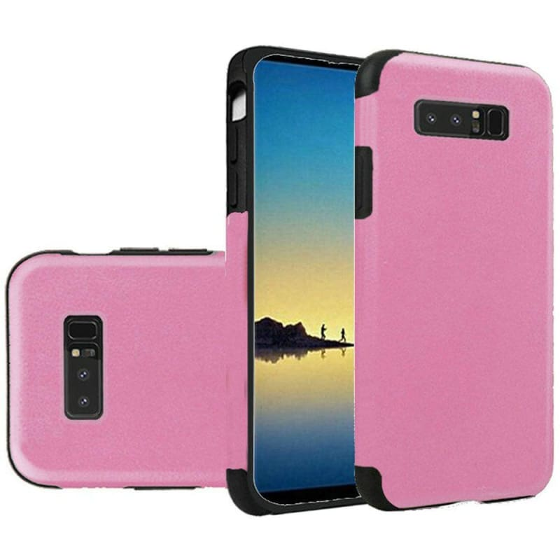 Premium Series Light Thin Non-Slip TPU Case, Light Pink for Samsung Galaxy Note 8