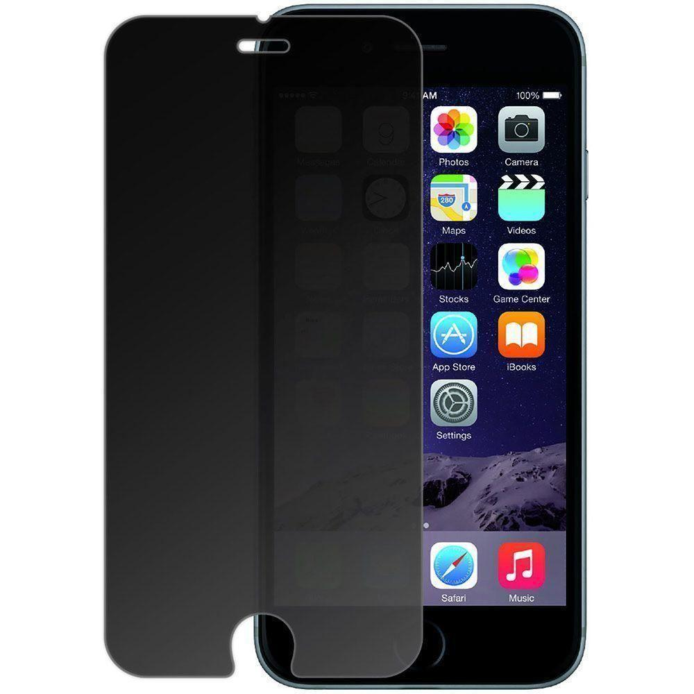 - Privacy Tempered Glass Screen Protector, Gray for Apple iPhone 6 Plus/iPhone 6s Plus