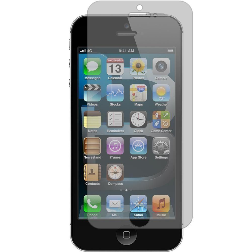- Anti-Glare Screen Protector for Apple iPhone 5/iPhone 5s/iPhone SE