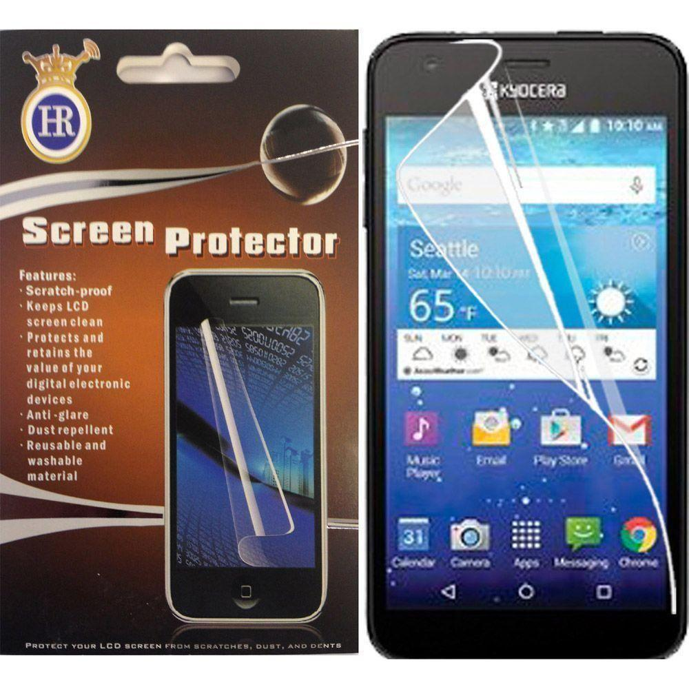 HR Wireless Cell Phone Case for Kyocera Hydro Reach View Shore C6743 C6742 Tempered Screen Protectors - Regular -  HRWireless, CSP-KyoHydroView