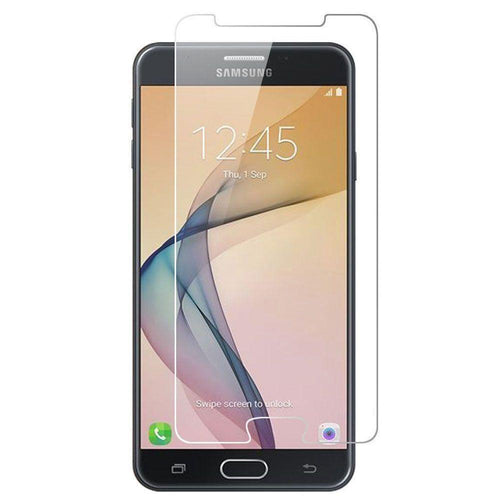 Samsung Galaxy J7 V - Tempered Glass Screen Protector, Clear