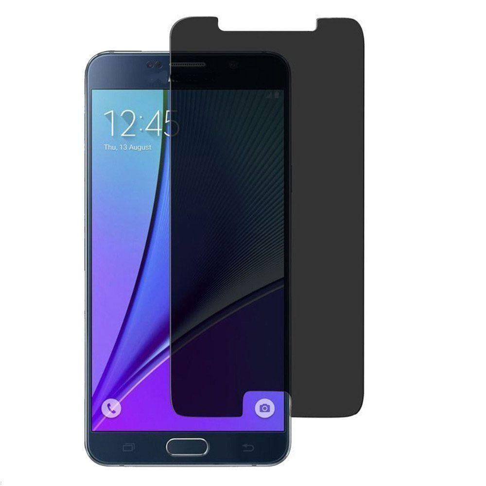 - Privacy Tempered Glass Screen Protector, Gray for Samsung Galaxy Note 5