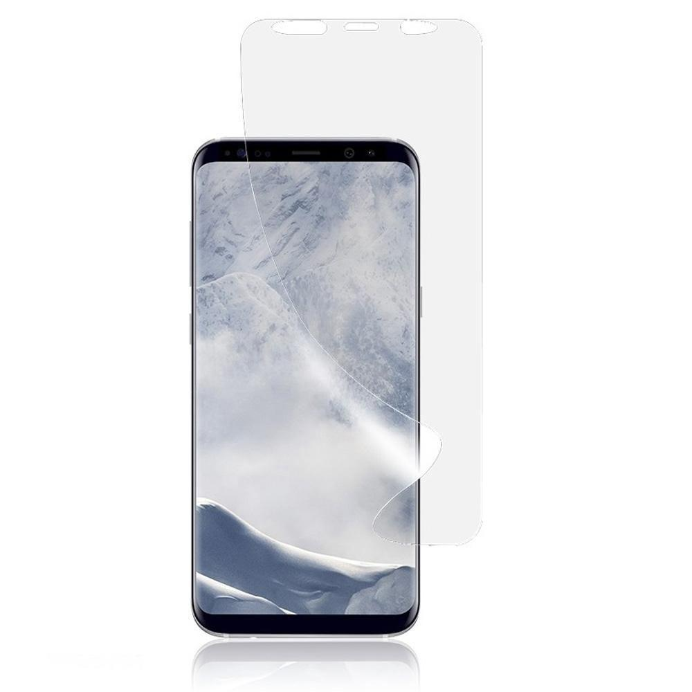 - Anti-Shock Full Screen Protector, Clear for Samsung Galaxy S9
