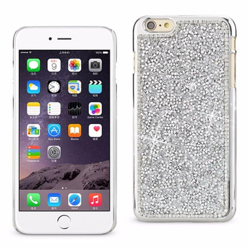 Motorola Moto E - Full Bling Shimmering Rhinestone Slim Case, Silver for Apple iPhone 6 Plus/iPhone 6s Plus
