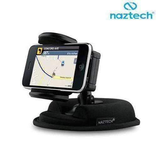 Savvy Z750c - Naztech 2-In-1 Dash Mount Holder, Black
